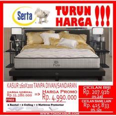 Serta Spring Bed Pure uk.160x200cm hanya kasur Tanpa Divan/Sandaran