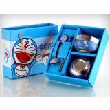 Harga Hemat Set Mangkok Dan Sumpit Karakter Doraemon
