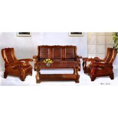 Set Meja Kopi Kursi Tamu Kayu Jati Jepara Modern Klasik Antik Furniture Mebel Indonesia Natural
