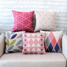 Diskon Set 5 Pribadi Fashionthrow Bantal Sofa Sarung Bantal Dekorasi Rumah Tanpa Isi Tiongkok
