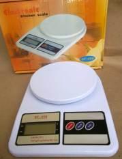 Harga Sf 400 Timbangan Digital Dapur Putih Fullset Murah