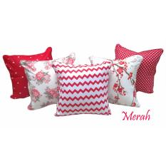 Jual Shafiyyah Sarban 1 Set 5 Pcs Sarung Bantal Sofa Kursi 40X40 Cm Shafiyyah Sarban Di Indonesia