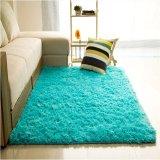 Review Shaggy Anti Selip Karpet Karpet Lantai Tikar Cover 80X120 Cm Biru Intl Terbaru