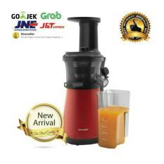Sharp Slow Juicer Ejc20yrd 0.8 Liter Ej-C20Y-Rd 150 Watt - Se7c6t