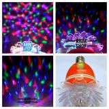 Shigen® Lampu Hias Led 5W Best Quality Disco Auto Rotating Full Color Sg 231 1Pcs Orange Diskon Jawa Timur