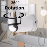 Beli Shower Head Hand Holder 360 ° Adjustable Wall Mounted Stand Bracket Kamar Mandi Set Oem Online