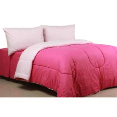 Sierra - Bedcover dan Sprei - Polos Candy Pink x Baby