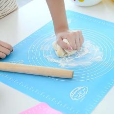 Harga Silicone Baking Kue Fondant Rolling Menguleni Baking Mat Warna Biru Oem Baru
