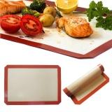 Cuci Gudang Silicone Baking Mat Non Stick Heat Resistant Liner Oven Sheet Mats 42 29 5Cm Intl