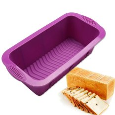Harga Silicone Roti Loaf Cake Mould Non Stick Bakeware Baking Pan Oven Dapur Mould Intl Oem Original