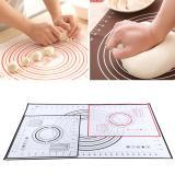 Promo Toko Silicone Fiberglass Rolling Adonan Pad Pastry Baking Mats W Pengukuran Hitam 26 29 Cm Intl