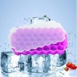 Tips Beli Silicone Honeycomb Berbentuk Ice Cube Tray Pembuatan Es Cetakan With Cover With 37 Kompartemen Yang Bagus