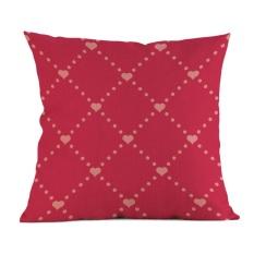 Sederhana Suka Melukis Linen Sarung Bantal Sofa Sarung Bantal Kursi Dekorasi Rumah D-Intl