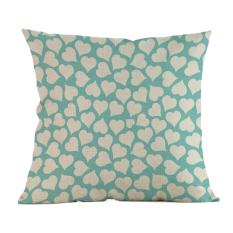 Sederhana Suka Melukis Linen Sarung Bantal Sofa Sarung Bantal Kursi Dekorasi Rumah Sebuah-Internasional
