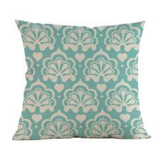 Sederhana Suka Melukis Linen Sarung Bantal Sofa Sarung Bantal Kursi Rumah Dekorasi C-Intl
