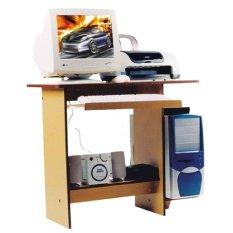 Simplefurniture Meja Komputer/Laptop/Belajar CD 180 - Mahony