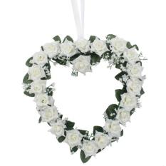 Simulasi Enkripsi Pernikahan Bola Bunga untuk Pesta Outdoor Decoration Warna: Putih Ukuran: 1 Pcs-Intl