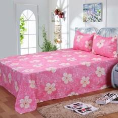 Single Piece Seprai Kapas Murni 200x230 Cm untuk 1.5 M Bed (A)-Intl