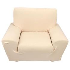 Single Sofa Slipcovers Elastisitas Tinggi Lembaran Soft Covers Beige & Nbsp;-Intl
