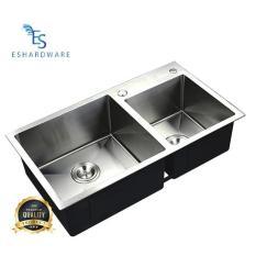 Sink Bolzano Kitchen Sink Bak Cuci Piring 2 Lubang /Bolzano 8245 - Vuj1is