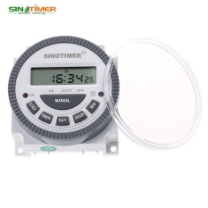 SINOTIMER 220 V LCD Digital Serbaguna Kontrol Diprogram Power Timer Switch-Intl