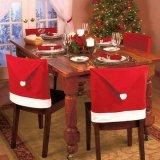 Harga Sinterklas Topi Penutup Kursi Dekorasi Natal Untuk Pesta Liburan 6 Buah Merah Online