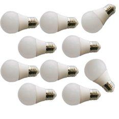 Sip Lite  Cahaya Terang Bohlam Lampu Led Globe 50Mm S - 3 Watt Putih X 10 Pcs