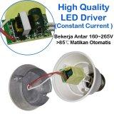 Sip Lite Cahaya Terang Bohlam Lampu Led Globe 70Mm S-7 Watt Putih X 2 Pcs | Lazada Indonesia