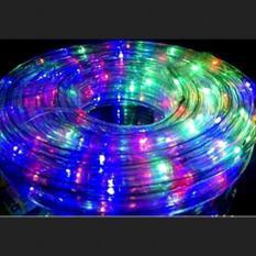 Sivicom Lampu Hias Natal - Lampu Selang 10M ROPE LIGHT 8 Variasi WARNA WARNI