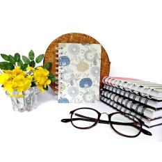 Sketchbook & Notebook binder bunga vektor