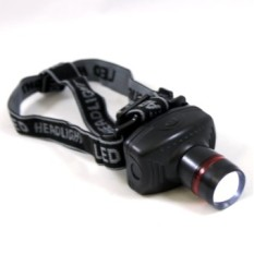 Skytop Lampu Senter Kepala High Power Zoom Headlamp - Hitam