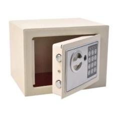 Small Digital Electronic Safe Box Keypad Lock Home Office Hotel Gun Black New (White) - intl