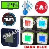 Smart Jam Termometer Pengatur Waktu Alarm Biru Diskon Akhir Tahun