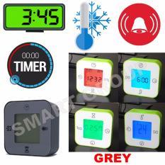 Spek Smart Jam Termometer Pengatur Waktu Alarm Grey Smart