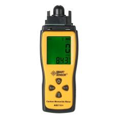 Harga Smart Sensor Handheld Carbon Monoxide Meter With High Precision Co Gas Tester Monitor Detector Gauge Lcd Display Sound And Light Alarm 1000Ppm Intl Branded