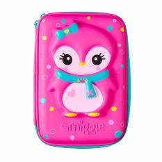 Jual Smiggle Pinguin Pencil Case Hardtop Pink