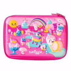 Spesifikasi Smiggle Scented Party Hardtop Pencil Case Pink Dan Harganya