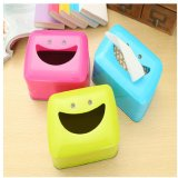 Toko Smile Face Cute Storage Box Tissue Box Intl Termurah Tiongkok
