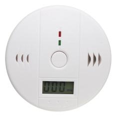 Asap CO Keracunan Karbon Monoksida Penguji Gas Sensor Detektor Alarm Peringatan LCD-Intl