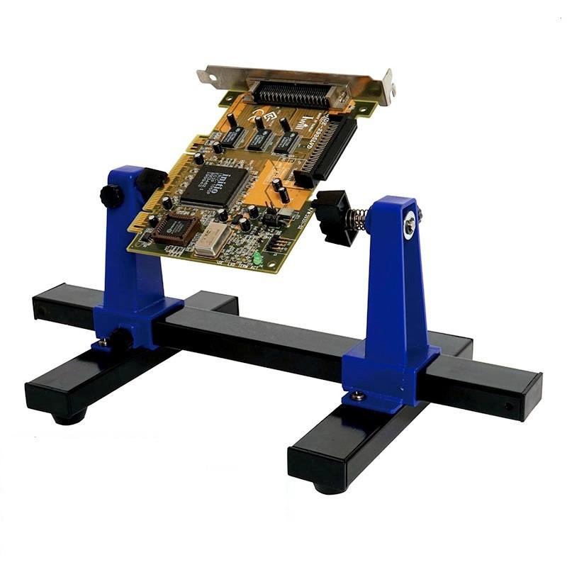 Harga preferensial SN-390 Adjustable Dicetak Papan Sirkuit Holder Bingkai PCB Penyolderan dan Perakitan Stand