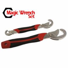 Beli Snap N Grip Magic Wrench Set 2Pcs Kunci Pas Kunci Inggris Lengkap