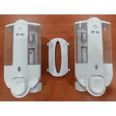 Soap Dispenser Double (Sambungan bisa dilepas jadi 2 Single Dispenser)