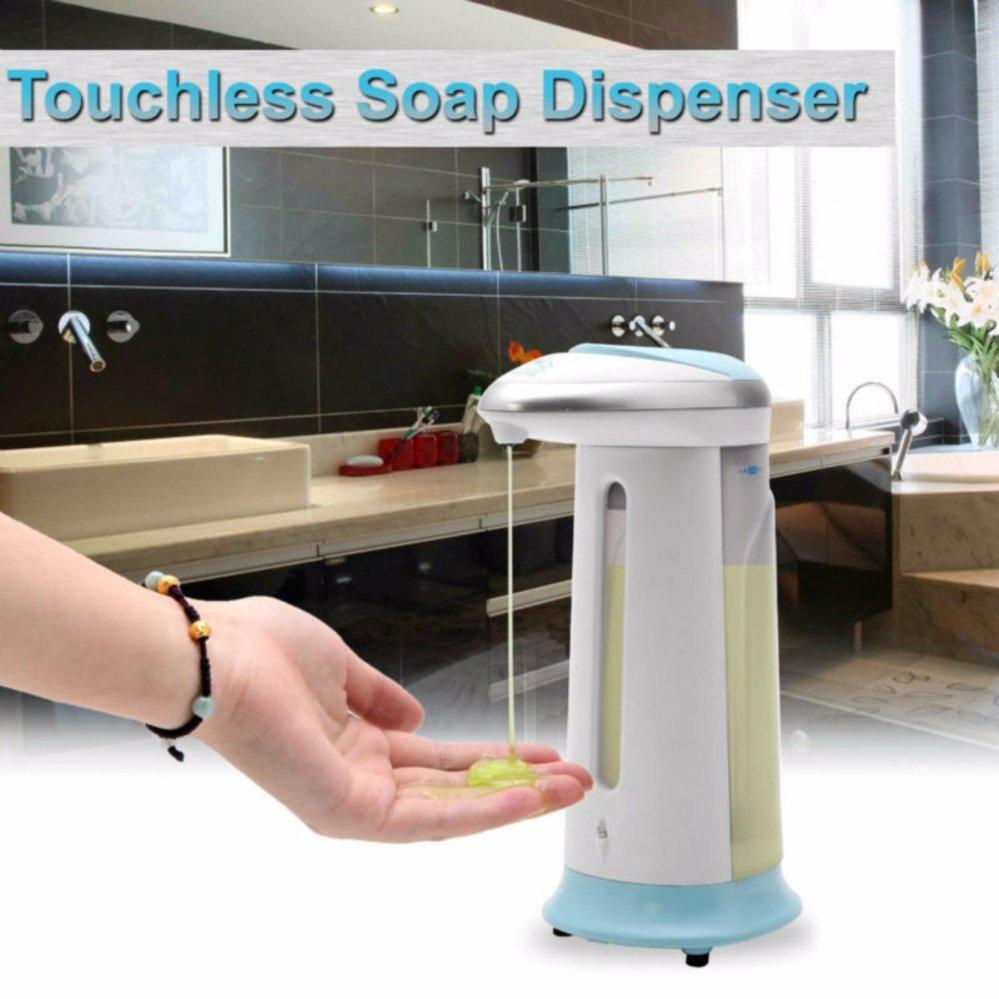 Soap Magic Dispenser Dispenser Sabun Cuci Otomatis Untuk Cuci Tangan  -Dispenser Sabun Cair Dispenser Sabun Murah Dispenser Ajaib Dispenser Sabun Cuci Tangaatis Tempat Sabun Cair Wadah Sabun Cair Aksesoris Kamar Mandi Dispenser Sabun Sensor Infrared