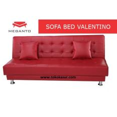 Sofa Bed Valenza Warna Merah Oscar Promo Beli 1 Gratis 1