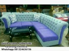 sofa L minimalis dhiya furniture