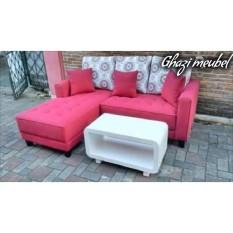 sofa L santai minimalis