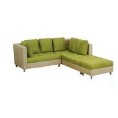 Sofa Minimalis Sudut Tulip Tanpa Meja