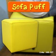 SOFA PUFF FURNITURE ALAT RUMAH TANGGA MINIMALIS SOFA SANTAI 40x40x40 cm - HHK-167