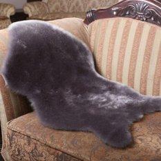 Buatan Kulit Domba SOLD By LAZADA Indonesia Lihat Toko Evamat Polos Ukuran 60x60-Dicuci Tikar Karpet