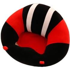 Lembut Nyaman Dukungan Bayi Kursi Sofa Kreatif Belajar Duduk Soft Chair Cushion Sofa Plush Bantal Mainan Tetap Duduk Postur Tubuh untuk Sayang Gaya: Hitam Ukuran: 40*13 Cm-Intl